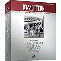 Alfred Led Zeppelin Box Set I-V Guitar Tab Platinum Edition Books [並行輸入品]