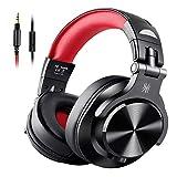 OneOdio モニターヘッドホン 音楽シェア機能 低音強化 DJヘッドホン 有線 ヘッドフォン 密閉型 室内 宅録 FuSion A71