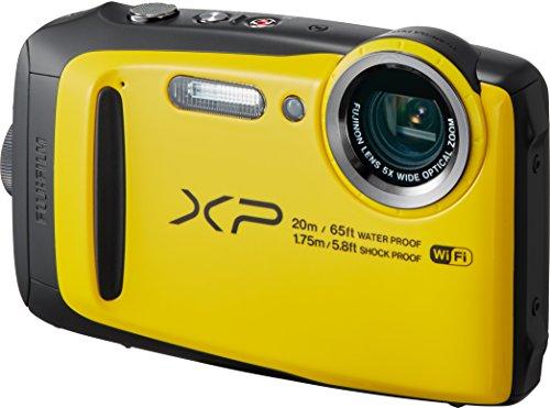 FUJIFILM デジタルカメラ XP120 イエロー