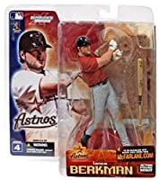 SALE!!マクファーレントイズ MLB フィギュア シリーズ4ランス・バークマン variant赤/ヒューストン・アストロズ