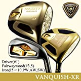 マルマン(maruman) マジェスティ バンキッシュ XR(MAJESTY VANQUISH)ゴルフクラブ カーボンシャフト 12本セット(W#1(10.5),3,5,I#5-10,PW,AW,SW) R