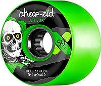 Powell-Peralta Skate-Aid X Skateboard Wheels Green 59mm [並行輸入品]