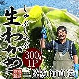 生わかめ しゃぶしゃぶ用300g 宮城県産天然ワカメ 漁師直送