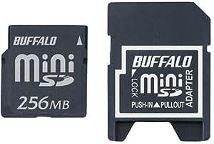 BUFFALO RSDM-256M miniSDカード 256MBモデル