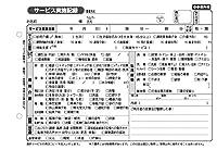 訪問介護伝票 訪問介護サービス実施記録 2枚複写 50組×10冊