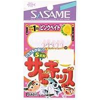 【SASAME/ササメ】サビキッズ ピンクベイト SA011 4号 / 083958