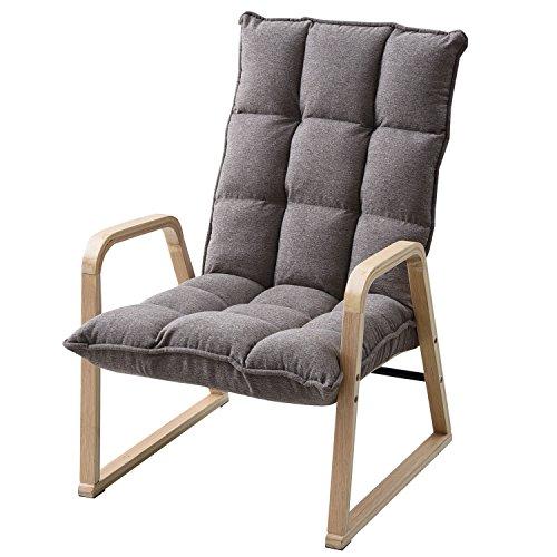山善 曲げ木チェア 高座椅子