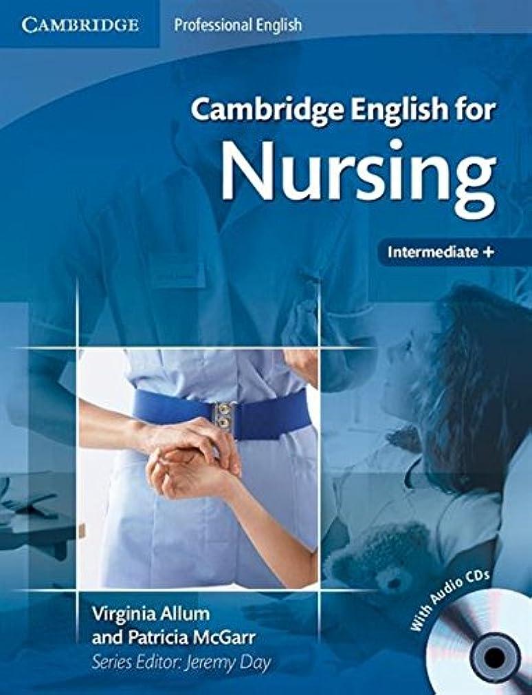 時計回りプーノ彼らCambridge English for Nursing Intermediate Plus Student's Book with Audio CDs (2) (Cambridge English for Series)