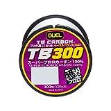 デュエル(DUEL) TB CARBON TB300 300m 6号 H3546 ナチュラルクリア 6号