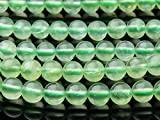 【 福縁閣 】【 プレナイト 】 6mm 1連(約38cm)_R859/A7-2 天然石 パワーストーン ビーズ