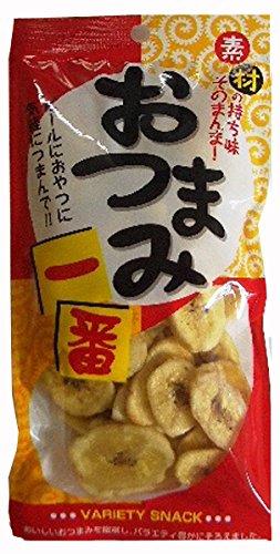 豆一番 バナナチップ 70g×10