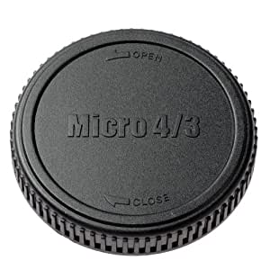 【アマゾンオリジナル】 ETSUMI キャップ/フード マイクロフォーサーズ用レンズリアキャップ ブラック ETM-83192
