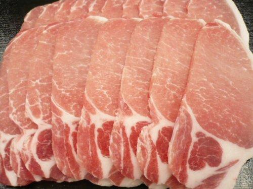 豚のロース肉 1000g 焼肉用