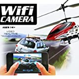 UDI @U16W 2.4G 3CH RC Iphone wifi metal helicopter with camera Wifi RC helicopter Gyro for iPhone/iPad/iPod RC toys おもちゃ (..