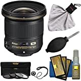 Nikon 20mm F / 1.8g af-s Ed Nikkorレンズwith 3UV / CPL / nd8フィルタ+クリーニングキットfor Nikon d3200, d3300, d5300, d5500、d7100、d7200、d750、d810カメラ