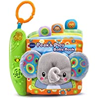 VTech Baby Peek and Play Baby Book 音の出る赤ちゃんの布絵本 【並行輸入品】
