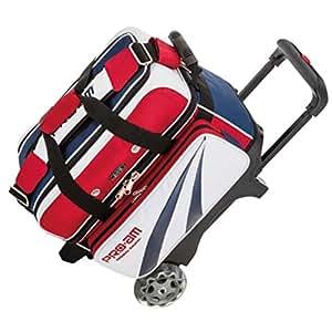 ABS ボウリング バッグ B15-1350 ボール2個用カート トリコロール ボウリング用品