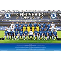 2013-14 Chelsea Squad Poster