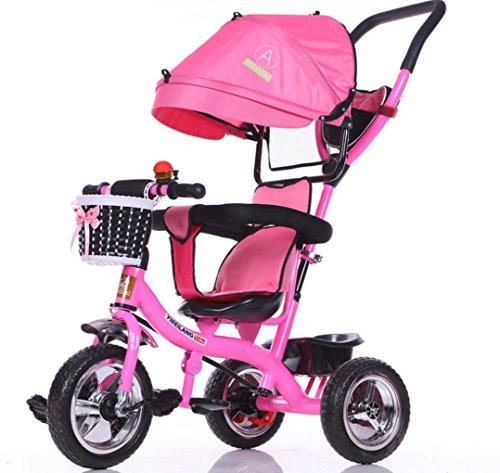 三輪車にもなるベビーカー 6-12ヶ月から1-3歳、3-6歳...