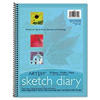 Pacon :アート1stスケッチ日記、11x 81/ 2、60ポンド、70シート、ホワイト–: -として販売2パックof–1–/–Total of 2Each