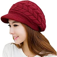 Fashionable Unique Design with Two Layers for More Warm,Outside Layer Knit with Angora,Inside Layer Made of Knitting Cotton,Two Layers Design for Keep Warm Better.Really Thick and Warm.