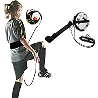 Hands Free Solo Soccer trainer- Fitsボールサイズ3、4、5