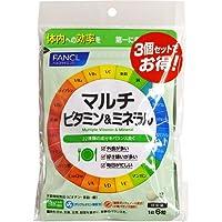 ファンケルFANCL マルチビタミン&ミネラル 約90日分(180粒×3袋セット)