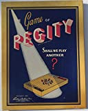 The Game of PEGITY - Copyright 1939