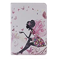 Paris- iPad miniケース / girl 花プリントケース iPad mini用保護ケース / iPad miniカバー & Apple iPad mini 専用case カバー アイパッド ミニ ケース スタンドタイプ 自動スリープ PUレザーケース