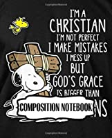 Composition Notebook: Charlie Brown And Lucy Friendship The Peanuts Comics Strip Little White Snoopy Beagle Dog House Animation Taking Notes, Writing Workbook for Teens & Children, Inexpensive Gift For Boys And Girls, 110 Pages 7.5 x 9.25 Inches