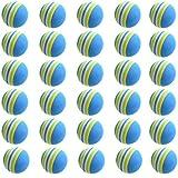 ゴルフ 練習 ボール 30球 セット 青色【室内練習等】