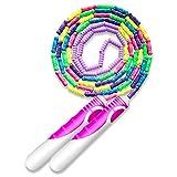 AYORI 縄跳び なわとび 子ども用 ガラス玉を嵌める ロープ長さ調整可 スポーツ トレーニング フィ...