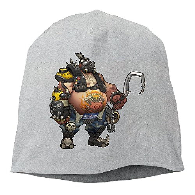 CIDY 恋人用 オーバー ゲーム ウォッチ ロードホッグ フィギュア 画像 ニット帽 ヘルメット 個性的な オールシーズン スポーツ グレー