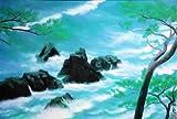 東山魁夷  『潮聲』 岩絵の具方式複製画