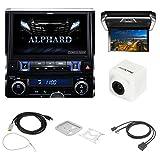 アルパイン(ALPINE) アルファード30系専用 カーナビ 11型 EX11V-AL-B(カメラ(白)+取付キット+ケーブル+リアビジョン+接続ユニットセット)