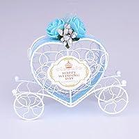 Auntwhale かぼちゃの車の裸の車の鉄のキャンディーボックス手作りの装飾的な砂糖箱の結婚式のキャンディーボックス四輪クリエイティブなギフトボックス
