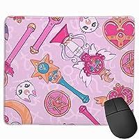 美少女戦士セーラームーン ゲーミングマウスパッド マウスパッド おしゃれ マウスパッド かわいい 滑り止め キーボードパッド オフィス デスクマット 光学式マウス対応 疲労軽減 ハンドレスト 腱鞘炎対策JIANGZHstu