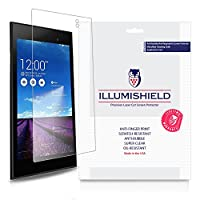 Asus MEMO PAD 7 ( me572 C )スクリーンプロテクター[ 3 - Pack ]、iLLumiShield – Japanese Ultra Clear HD Film with気泡防止、指紋防止Invisible Shield