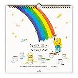 日本ホールマーク 2017年 カレンダー ベアーズ・ウィッシュ 壁掛け 大 706043