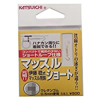 カツイチ(KATSUICHI) マッスルショート フック 4 釣り針