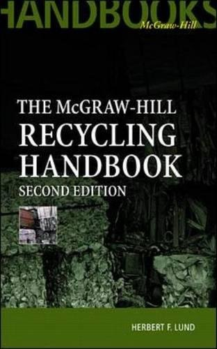 Download McGraw-Hill Recycling Handbook, 2nd Edition 0070391564