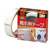 ポスト・イット 掲示用強弱両面テープ 24x10m ホワイト 561W