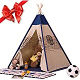 Easylifee 子供用テント キッズテント おもちゃ 折り畳み式 テントハウス 子供部屋 屋内 室内テント 秘密基地 知育玩具 誕生日 プレゼント 収納バッグ付き