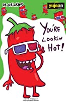 """Dr. Krinkles, CHILI PEPPER - You're Lookin Hot! - 3.75"""" x 5.25"""" - Sticker DECAL"""