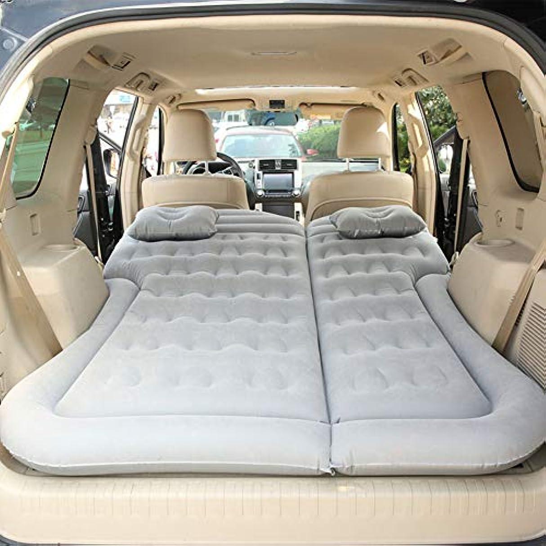 脚ではごきげんよう憧れLINGYAO 車の膨脹可能なベッドの後部座席折り畳み式の多機能の肯定的で否定的な二重使用の膨脹可能なクッションを貯えること容易