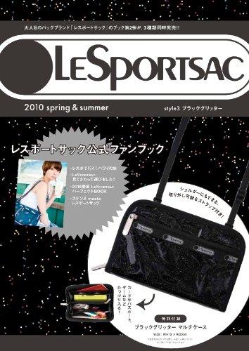LESPORTSAC 2010 spring&summer style3 ブラックグリッター ([バラエティ])の詳細を見る