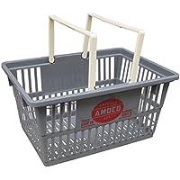 マーケットバスケット AMOCO GAS(アモコ ガス/Sサイズ)アメリカ雑貨 マイカゴ アメリカン雑貨 買い物カゴ 整理 収納 ガレージ カゴ