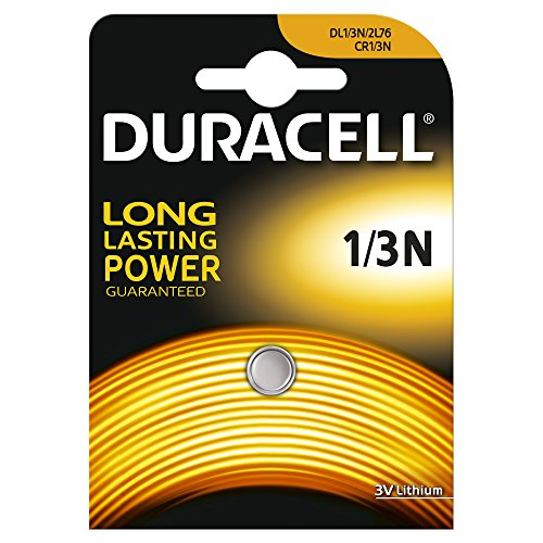 HOLGA DURACELL CR1/3Nリチウム電池