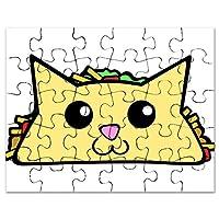 CafePress - Taco Cat - Jigsaw Puzzle, 30 pcs.