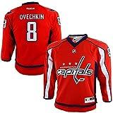 リーボック ジャージ Alexander Ovechkin Washington Capitals NHLリーボック幼児用レッドレプリカホッケージャージー( 2t - 4t )